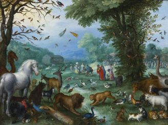 1024px-Jan_il_Vecchio_Bruegel_Landscape_of_Paradise_and_the_Loading_of_the_Animals_in_Noah